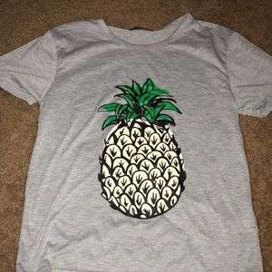Tops - Pineapple T shirt
